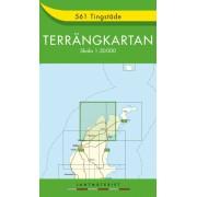 561 Tingstäde Terrängkartan