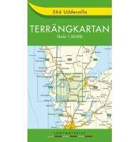 564 Uddevalla Terrängkartan