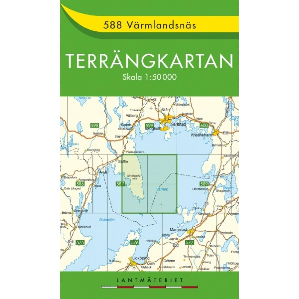 588 Värmlandsnäs Terrängkartan