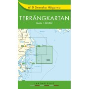 610 Svenska Högarna Terrängkartan
