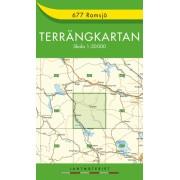 677 Ramsjö Terrängkartan