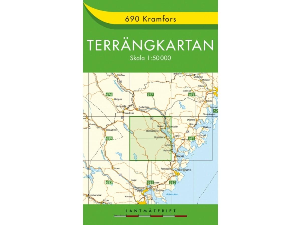 690 Kramfors Terrängkartan