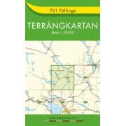 701 Föllinge Terrängkartan