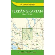 702 Hammerdal Terrängkartan