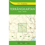 711 Fredrika Terrängkartan