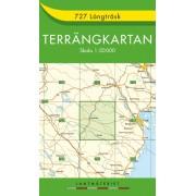 727 Långträsk Terrängkartan