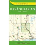 742 Övertorneå Terrängkartan