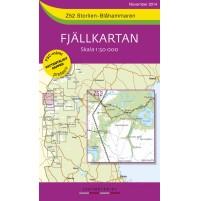 Z52 Storlien-Blåhammaren Fjällkartan