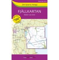 Z54 Sylarna-Helags Fjällkarta