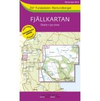 Z57 Funäsdalen-Ramundberget Fjällkarta