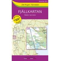 Z59 Rogen-Tänndalen Fjällkarta