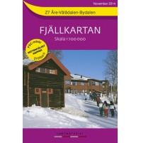 Z7 Åre-Vålådalen-Bydalen Fjällkarta