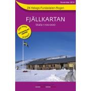 Z8 Helags-Funäsdalen-Rogen Fjällkarta