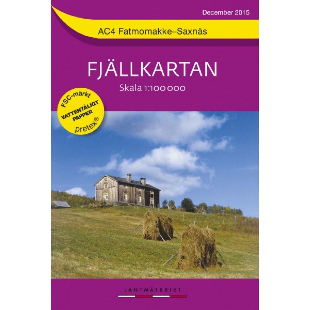 AC4 Fatmomakke-Saxnäs Fjällkarta