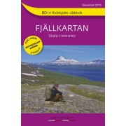 BD14 Kvikkjokk-Jäkkvik Fjällkarta
