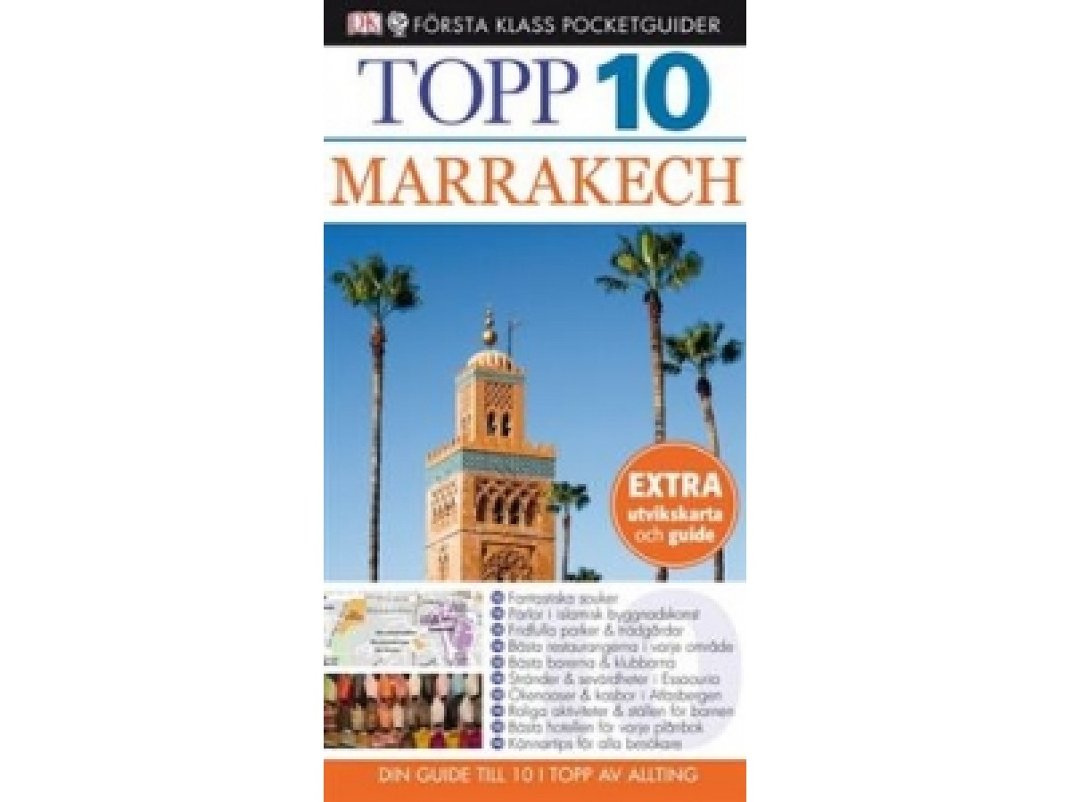 Marrakech Första Klass Pocketguider