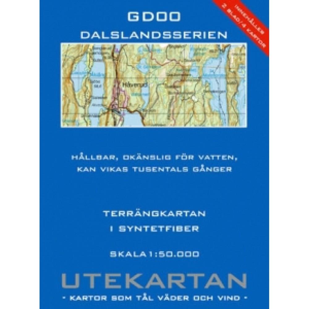GD00 Dalslandsserien Utekartan
