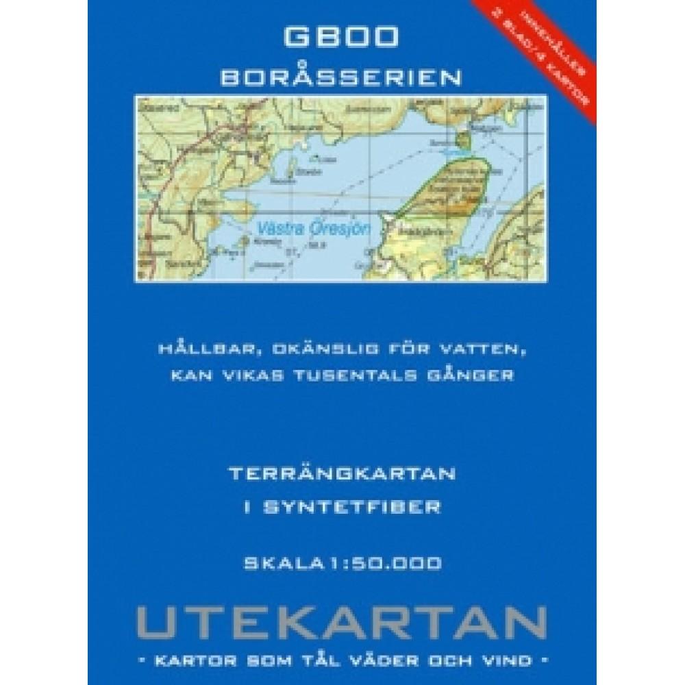 GB00 Boråsserien Utekartan