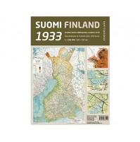 Finland 1933 Faksimiletryck