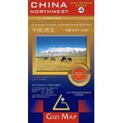 Nordvästra Kina GiziMap