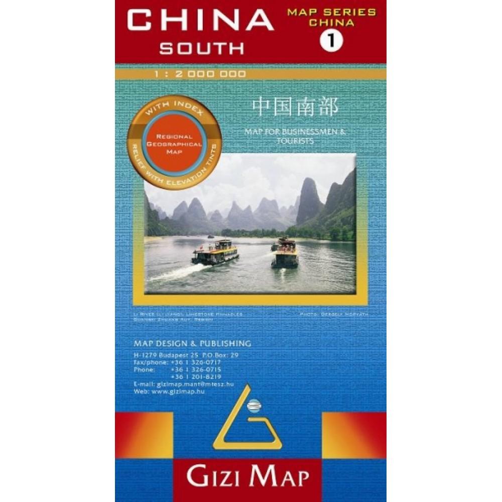 Södra Kina GiziMap