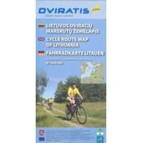 Litauen cykelkarta