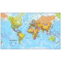 Världen MapsInt. 1:20milj (POL) 199x123cm