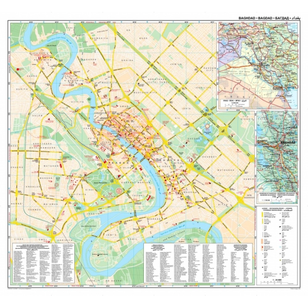 Bagdad GiziMap 1:25.000