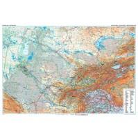 Centralasien GiziMap 1:1.750.000 FYS