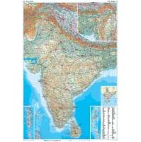 Indien GiziMap 1:3milj FYS