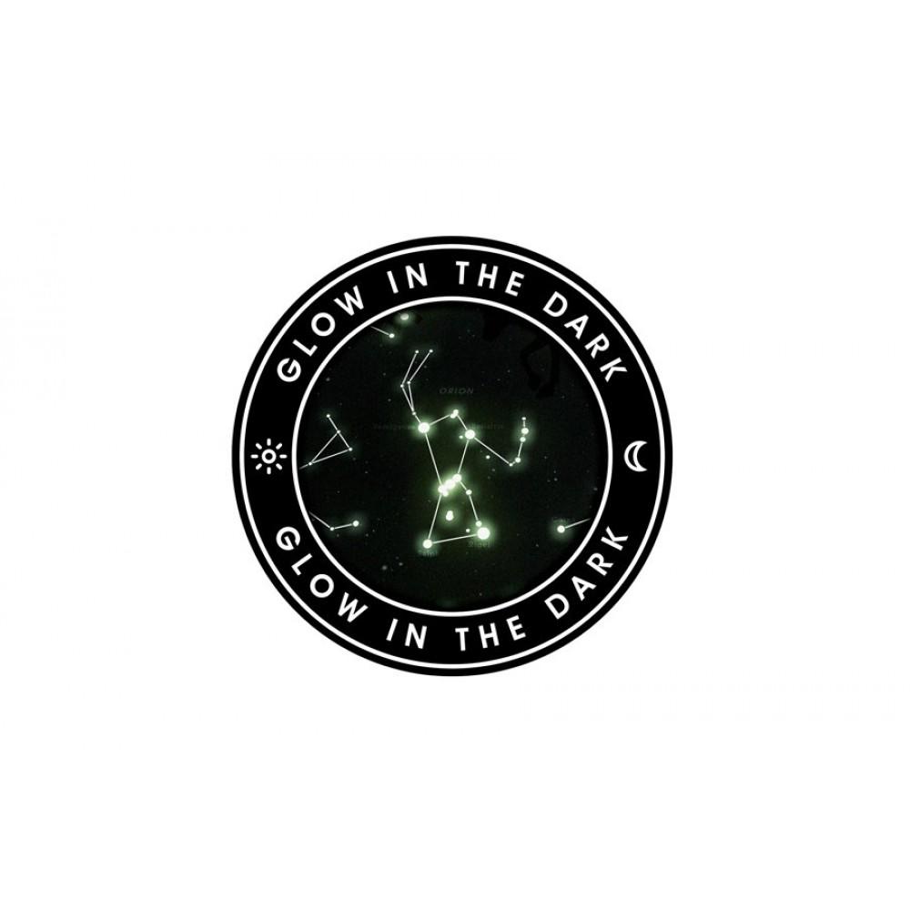 Stjärnkarta Självlysande