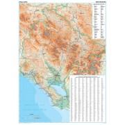 Montenegro GiziMap 1:250.000