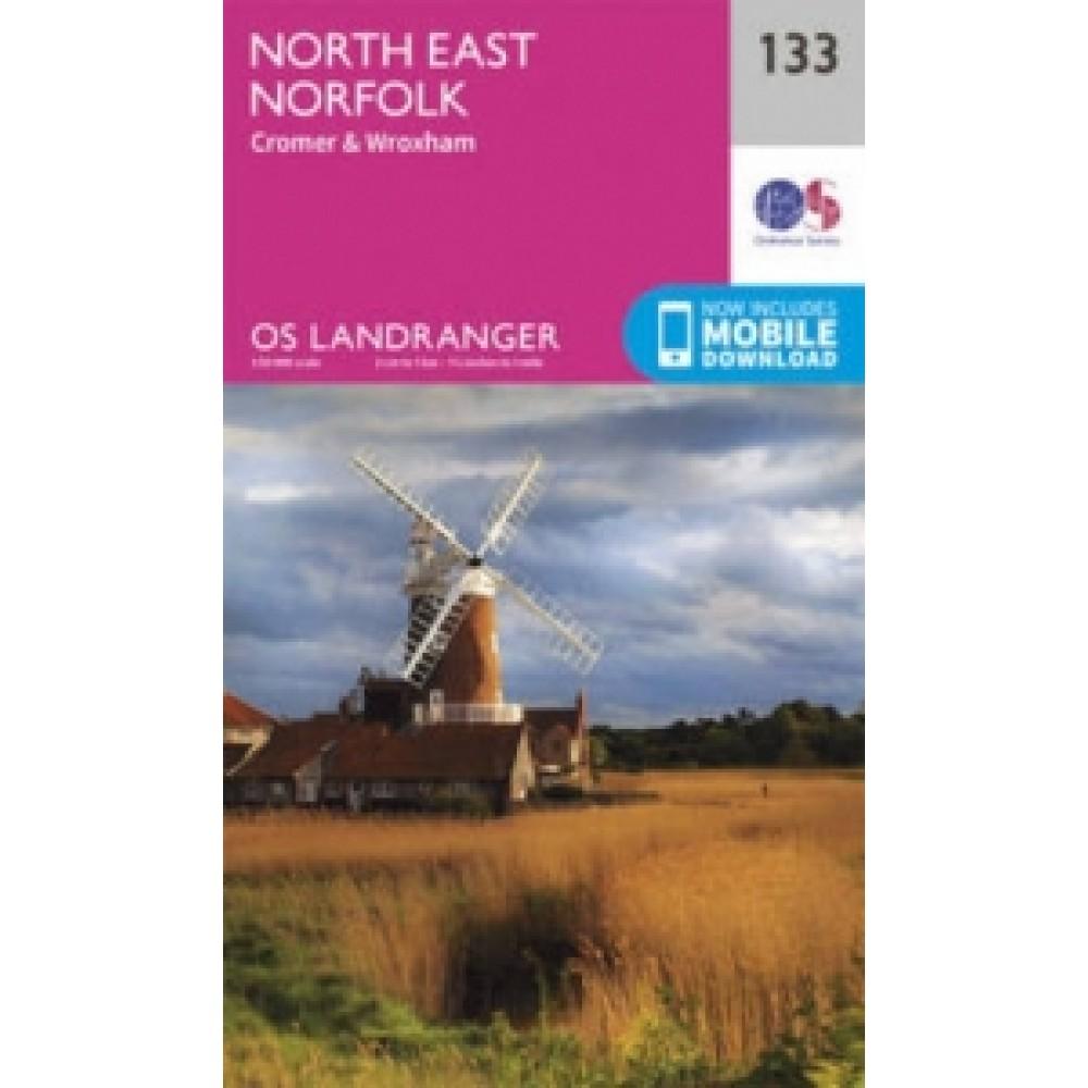 OS133 North East Norfolk