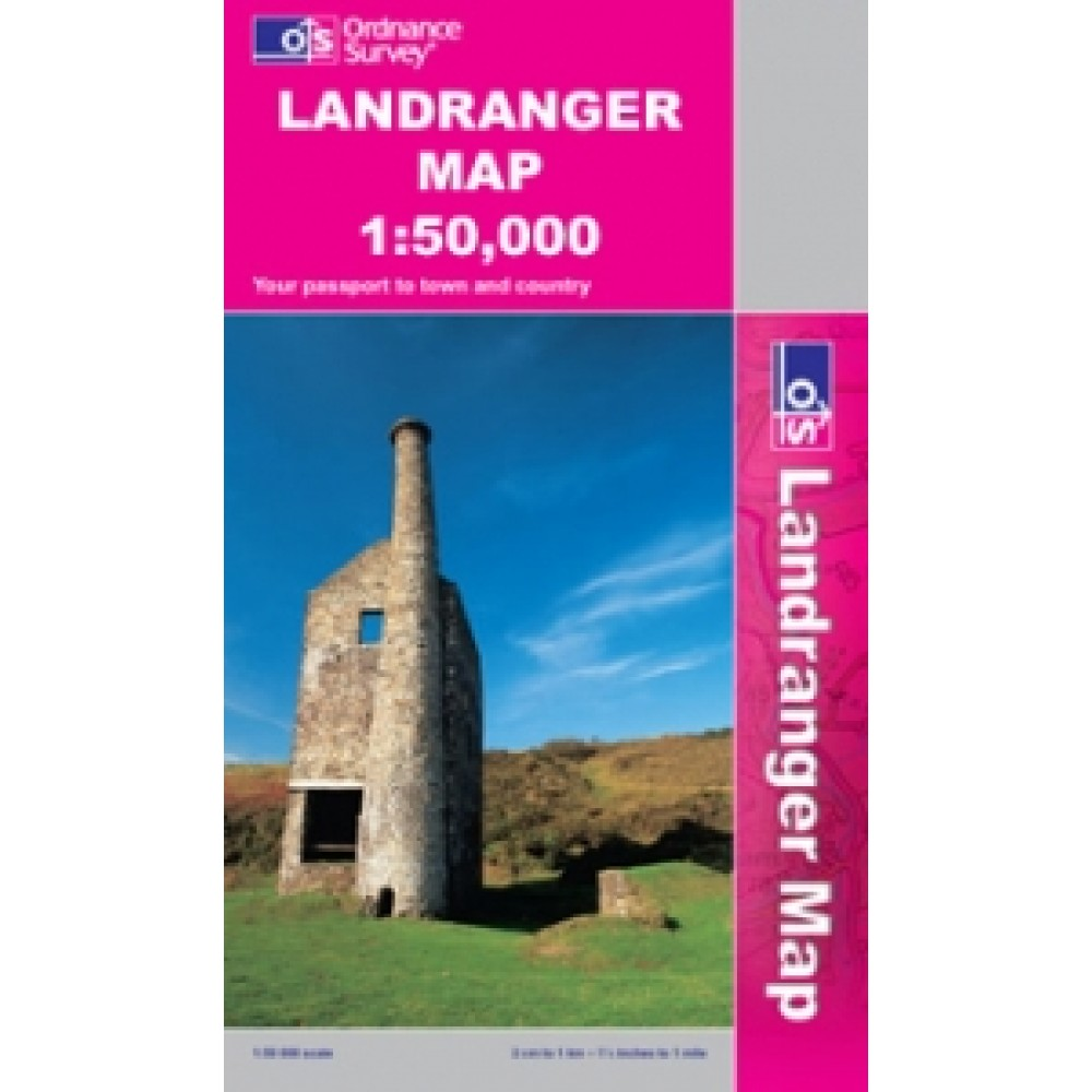OS146 Lampeter Llanovery Surrounding are