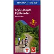 Trysil - Knuts Fjellverden Nordre Osen Turkarta