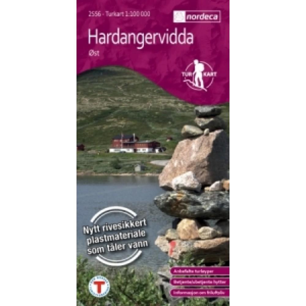 Hardangervidda öst Turkart