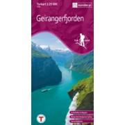 Geirangerfjorden Turkart 1:25 000
