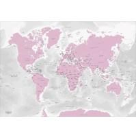 The World by Kartbutiken Pink