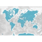 The World by Kartbutiken Turquoise