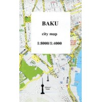 Baku City Center Map