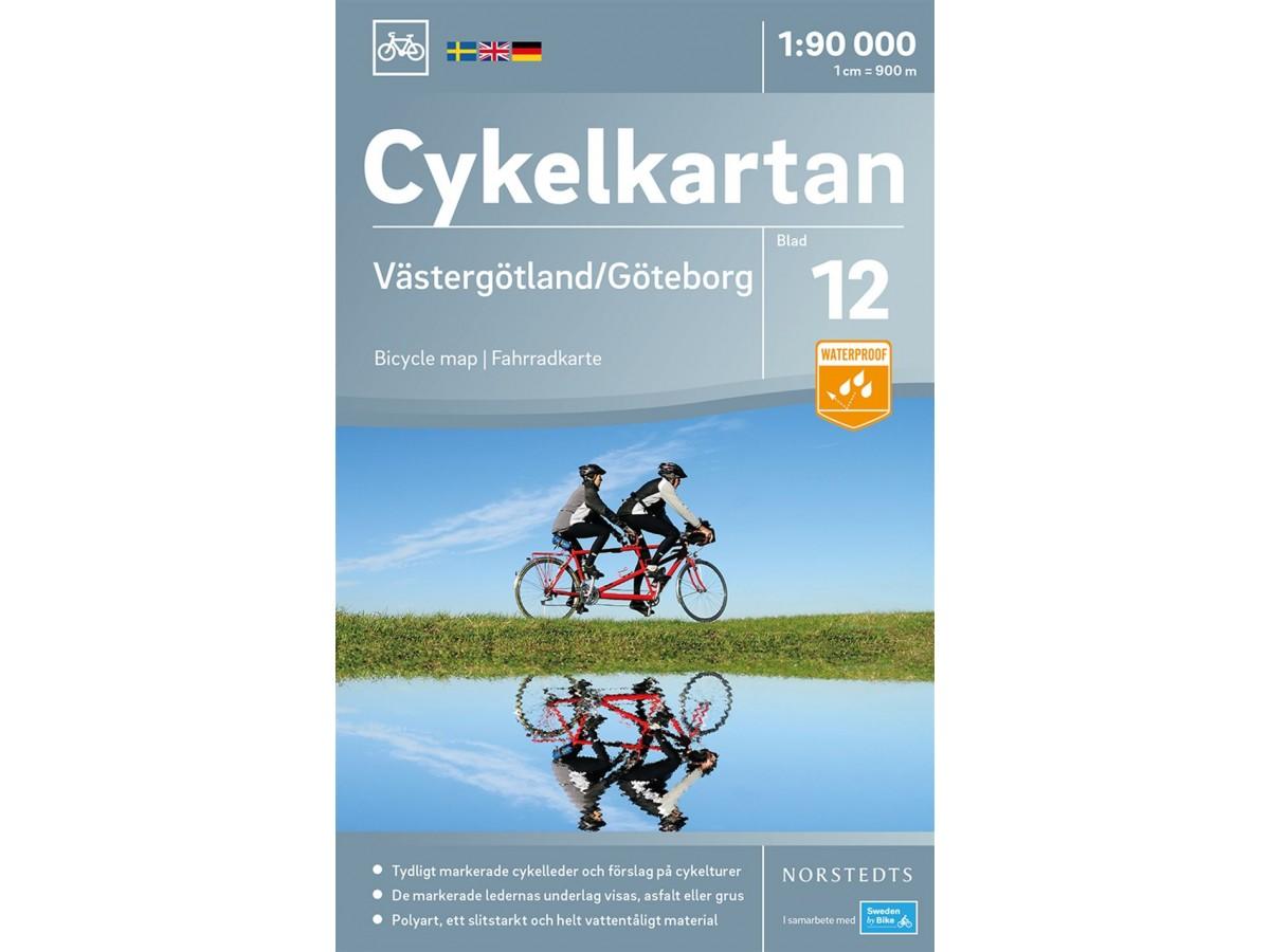 Cykelkartan 12 Västergötland/Göteborg