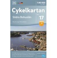 Cykelkartan 17 Södra Bohuslän