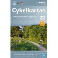 Cykelkartan 22 Södermaland/Östergötland