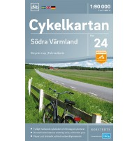 Cykelkartan 24 Södra Värmland