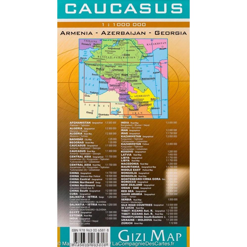 Caucasus GiziMap