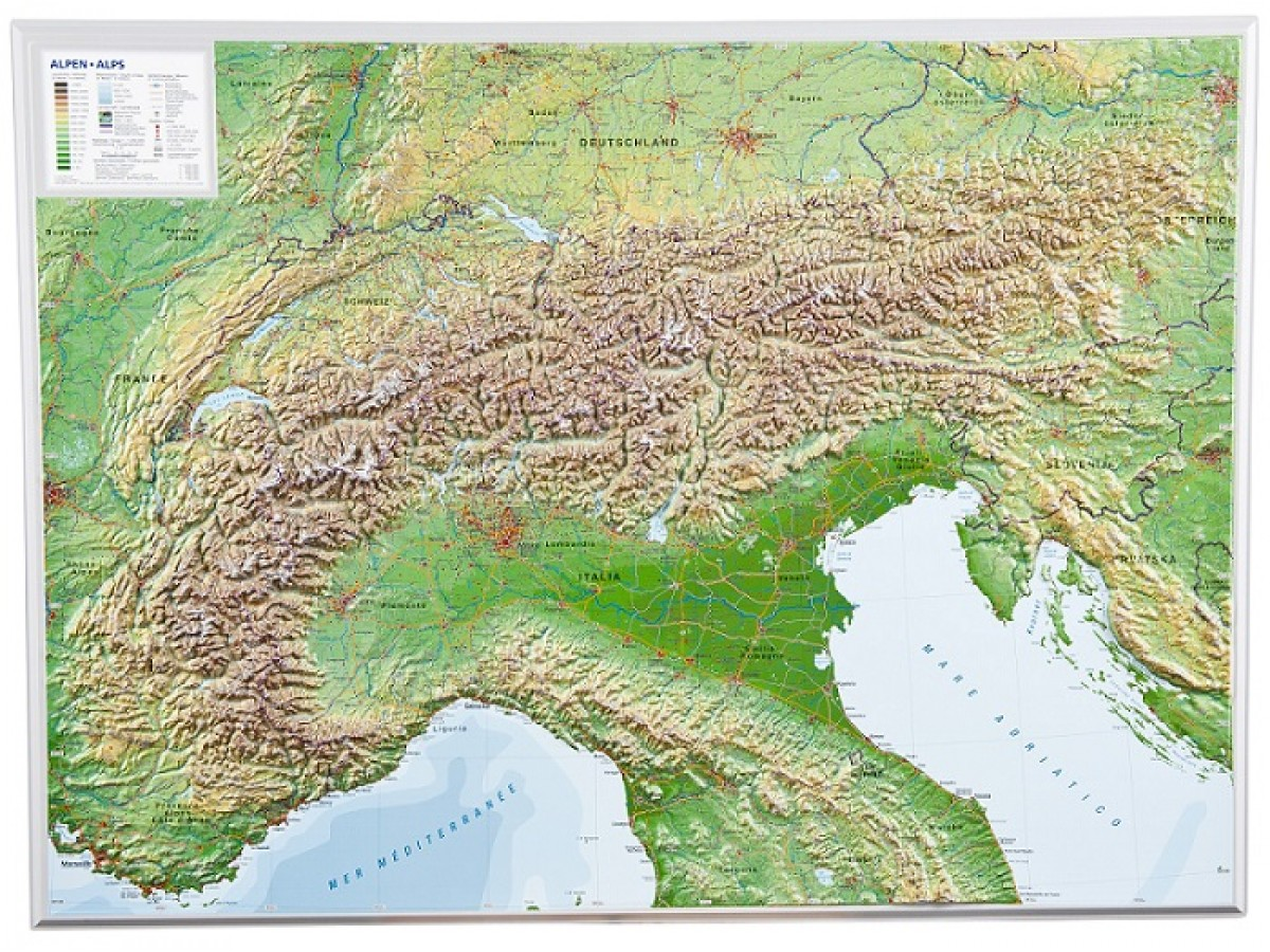 Karta Alperna Karta 2020