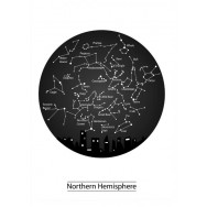 Stars Northern Hemisphere poster