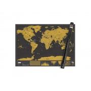 Scratch Map XL Världskarta
