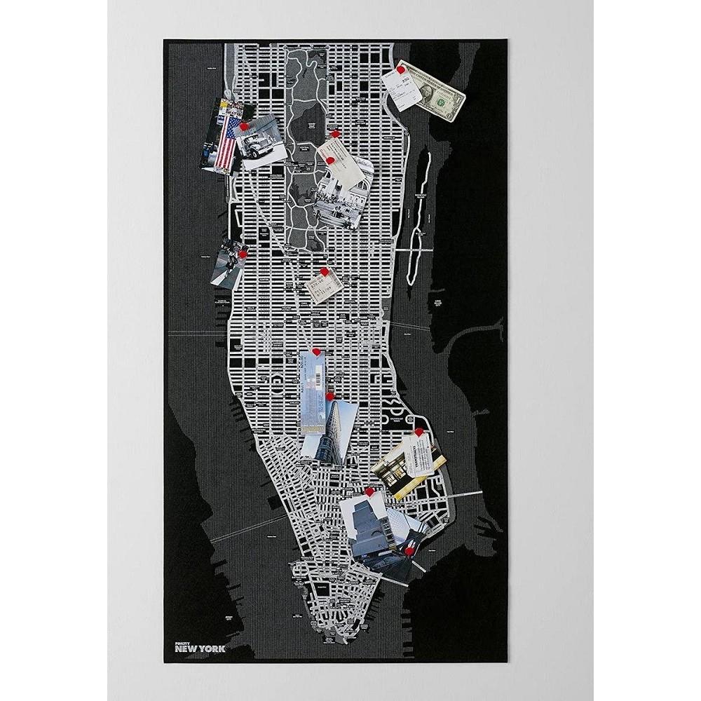 Pin New York - Black