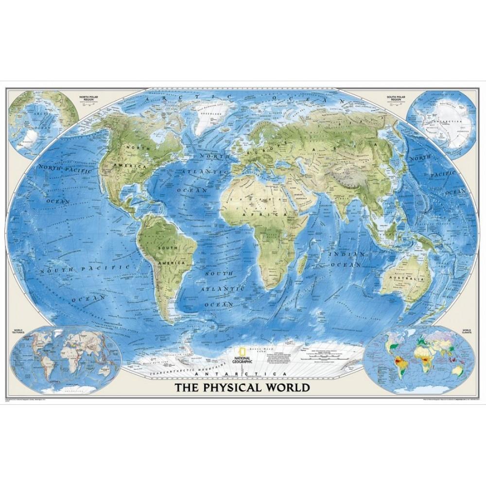 Världen NGS 1:35,842milj FYS 110x78cm